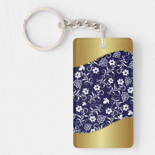 Porte clé- So chic- Rectangular Acrylic Keychains