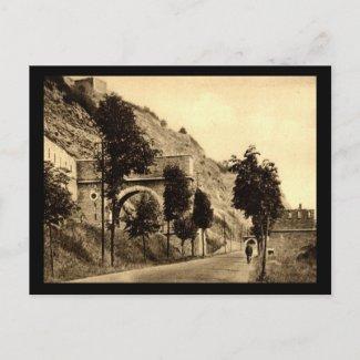 Porte de France, Givet, France Vintage postcard