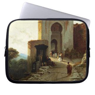 Porte de Justice, Alhambra, Granada (aceite en lon Mangas Computadora