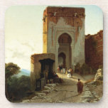 Porte de Justice, Alhambra, Granada (aceite en lon Posavasos