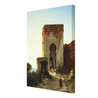 Porte de Justice, Alhambra, Granada (oil on canvas