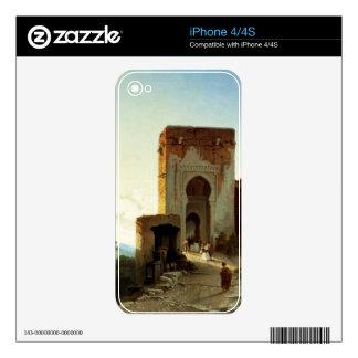 Porte de Justice, Alhambra, Granada (oil on canvas iPhone 4 Decals
