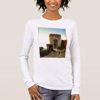 Porte de Justice, Alhambra, Granada (oil on canvas Long Sleeve T-Shirt