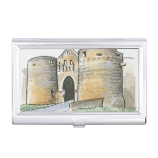 Porte des Tours, France Business Card Case
