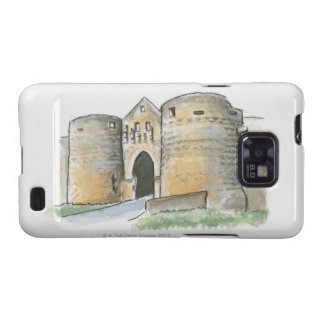 Porte des Tours, France Samsung Galaxy SII Covers