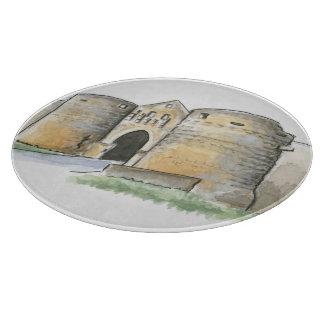 Porte des Tours, France Cutting Board