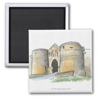 Porte des Tours, France Magnet