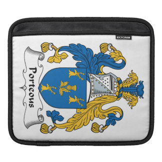 Porteous Family Crest Sleeve For iPads