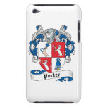 Porter Family Crest Barely There iPod Case