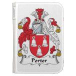 Porter Family Crest Case For Kindle