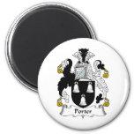 Porter Family Crest Magnets