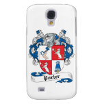 Porter Family Crest Samsung Galaxy S4 Covers