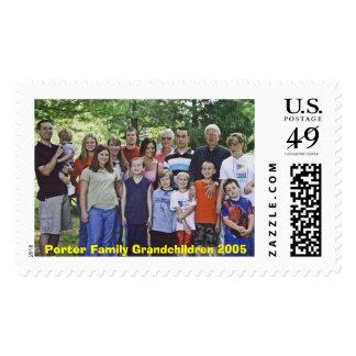 Porter Family Grandchildren 2005 Postage