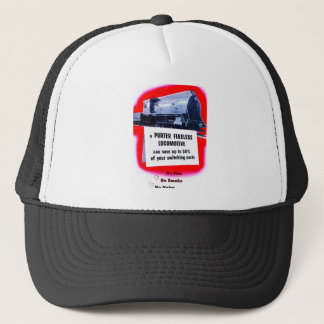 Porter Fireless Steam Locomotives Trucker Hat