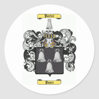 porter (ireland) classic round sticker