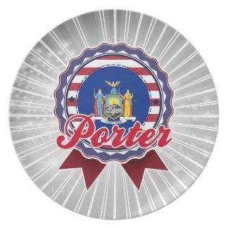 Porter NY Plate