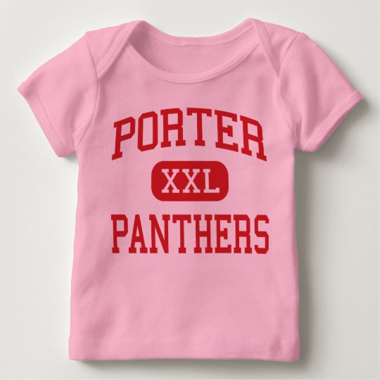Porter - Panthers - Middle School - Austin Texas Baby T-Shirt
