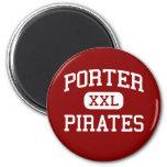 Porter - Pirates - Senior - Porter Oklahoma Fridge Magnet