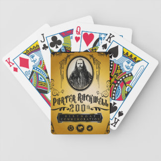 Porter Rockwell 200th Birthday - Color Bicycle Playing Cards