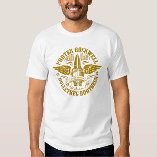 Porter Rockwell Rootbeer Shirt on white