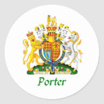 Porter Shield of Great Britain Sticker