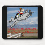 PORTER THE PENGUIN MOUSE PADS