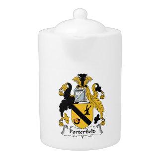Porterfield Family Crest Teapot