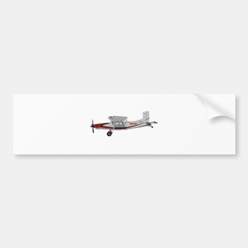 Portero de Pilatus PC-6 Turbo Pegatina De Parachoque
