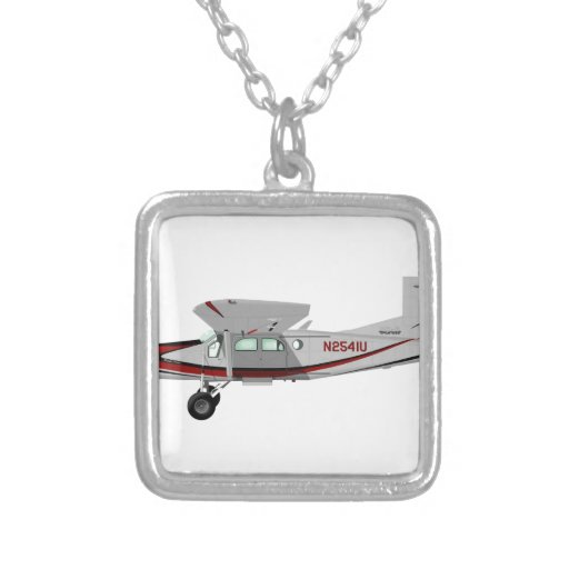 Portero de Pilatus PC-6 Turbo Pendientes Personalizados