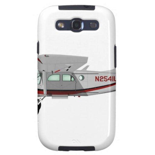 Portero de Pilatus PC-6 Turbo Samsung Galaxy S3 Cárcasas