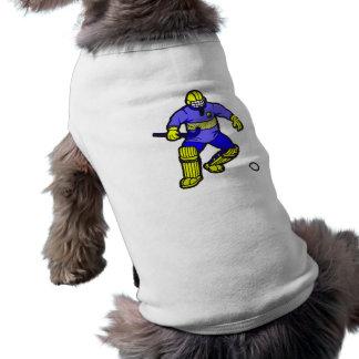Portero del hockey hierba camisa de perro