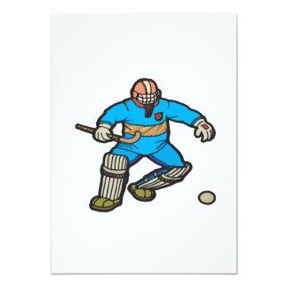 Portero del hockey hierba comunicados personalizados