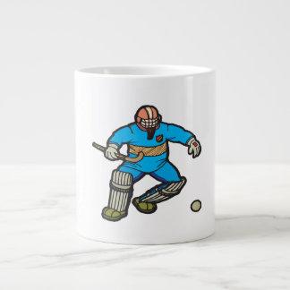 Portero del hockey hierba tazas jumbo
