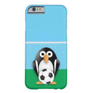 Portero del pingüino funda de iPhone 6 barely there