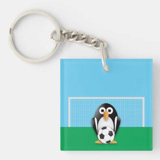 Portero del pingüino llaveros