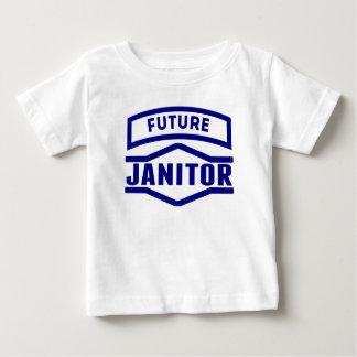Portero futuro playera para bebé