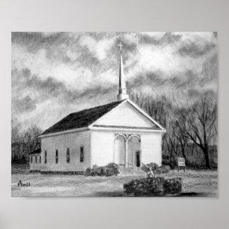 Porters Chapel Methodist Church Poster