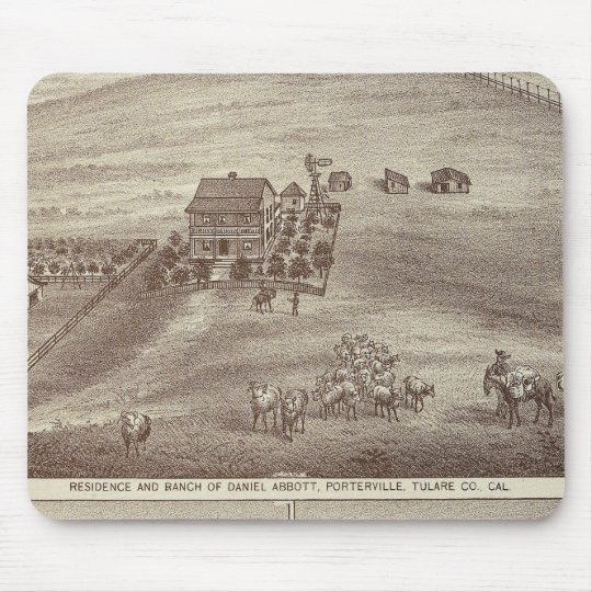 Porterville residences, store mouse pad