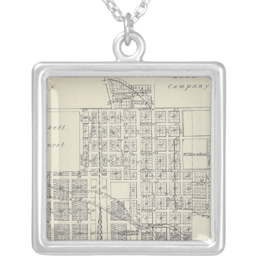 Porterville Silver Plated Necklace