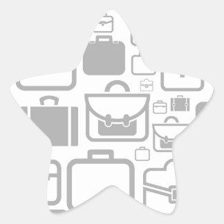 Portfolio a background star sticker