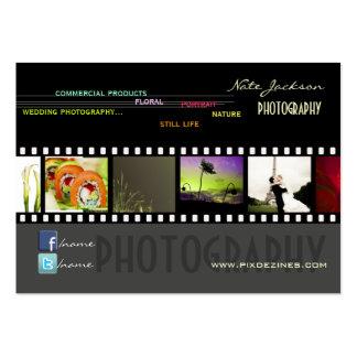 Portfolio business cards photos template DIY fonts