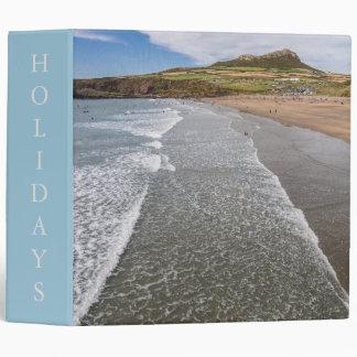 Porth Mawr Whitesands Bay Wales 3 Ring Binder