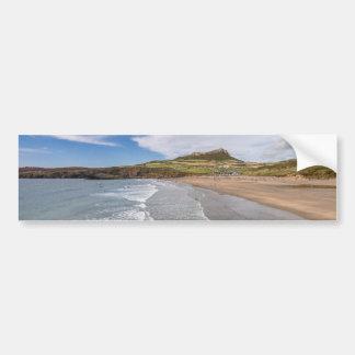 Porth Mawr Whitesands Bay Wales Bumper Sticker