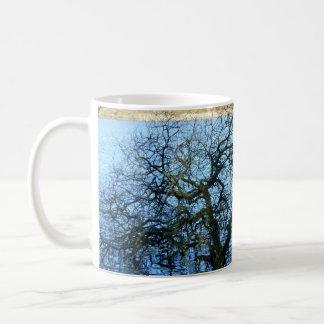 Porth Reservoir Nr Newquay Cornwall England Winter Coffee Mug