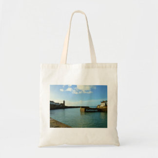 Porthleven Cornwall England Harbour Wall Tote Bag