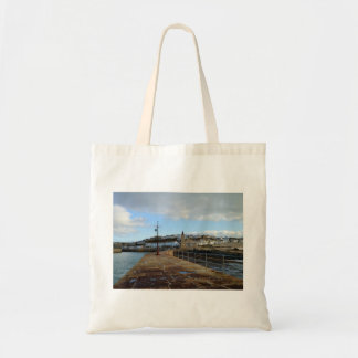 Porthleven Cornwall England in Winter Tote Bag