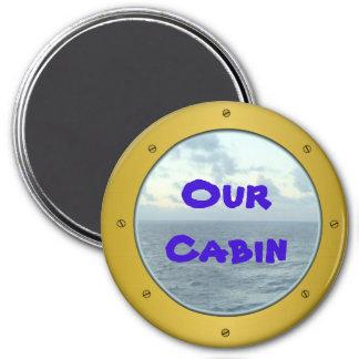 Porthole 2 Cabin Marker Magnet
