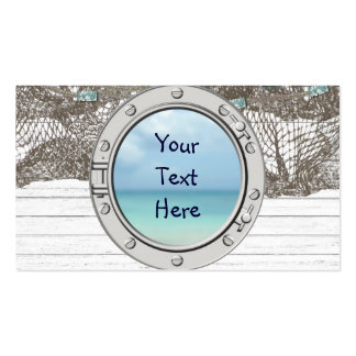 Porthole Double-Sided Standard Business Cards (Pack Of 100)