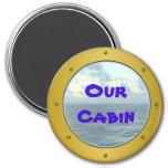Porthole Cabin Marker Magnet Fridge Magnets