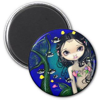 """""""Porthole Mermaid"""" Magnet"""